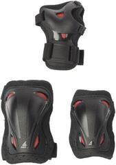 Rollerblade Skate Gear Junior 3 Pack Black/Red