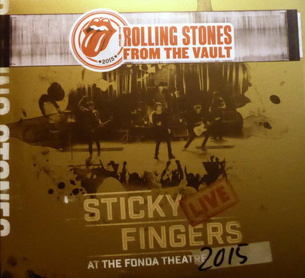 The Rolling Stones Sticky Fingers (3 LP + 1 DVD)