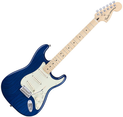 Fender Deluxe Stratocaster MN Sapphire Blue Transparent