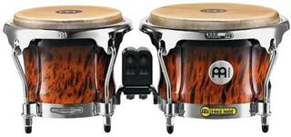 Meinl Professional Series Wood Bongo Brown Burl