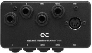 One Control Minimal Series Pedal Board Junction Box 4M