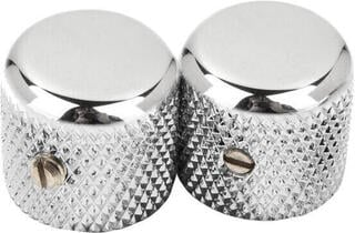 Fender Pure Vintage '52 Telecaster Knurled Knobs Chrome 2 Pack