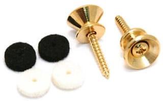 Fender Pure Vintage Strap Buttons Gold 2 Pack