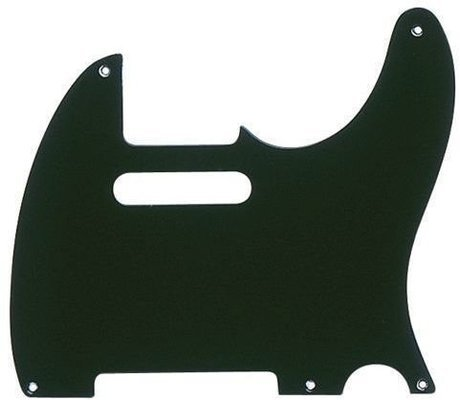 Fender Telecaster 5-Hole Mount 1-Ply Black Pickguard