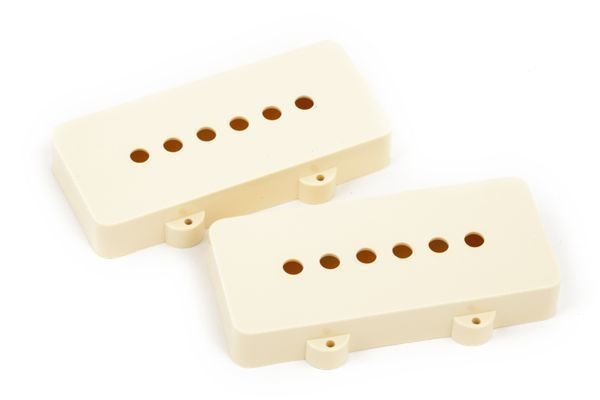 Fender Pickup Covers Jazzmaster Aged White 2 Pack