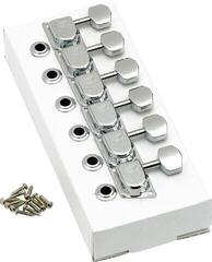 Fender 70s ''F'' Style Stratocaster/Telecaster Tuning Machines Chrome 6 Pack