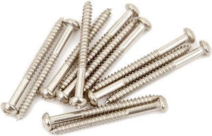 Fender Pure Vintage Bass Pickup Mounting Screws 4 x 1 1/4'' 12 Pack