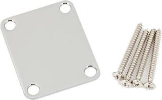 Fender 4-Bolt Vintage-Style Neck Plate ''Plain'' Chrome