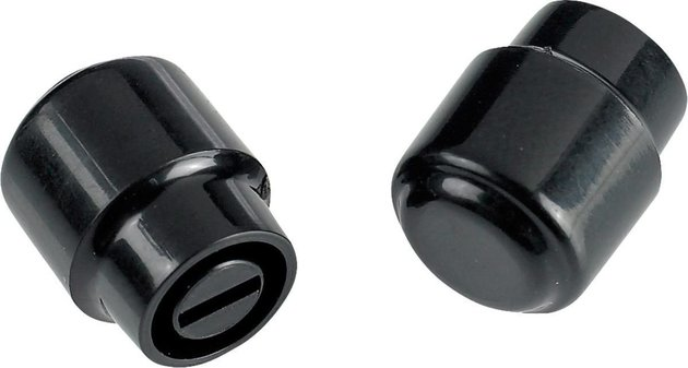 Fender Telecaster ''Barrel'' Switch Tips Black 2 Pack