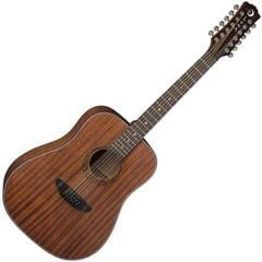 Luna Gypsy Dreadnought 12 String Mahogany