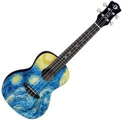 Luna Starry Night Koncertní ukulele Starry Night