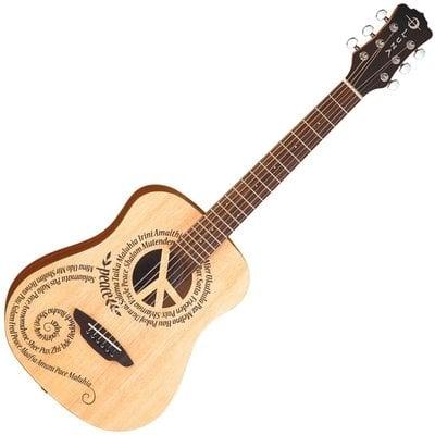 Luna Safari Peace Travel Guitar