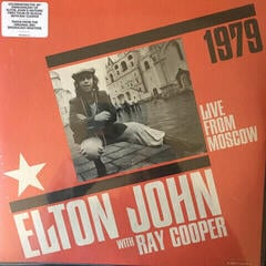 Elton John Live From Moscow-Black Lp (2 LP)