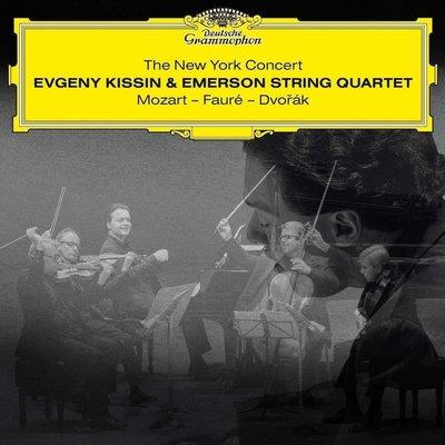 Evgeny Kissin The New York Concert: Mozart - Faure - Dvořák (Kissin & Emerson String Quartet (2 LP)