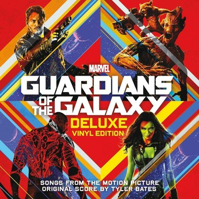 Guardians of the Galaxy Songs From The Motion Picture (2 LP Deluxe Vinyl Edition)