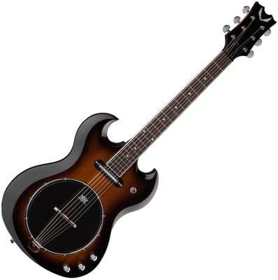 Dean Guitars Gran Sport 6 String Solid Body Banjo TSB
