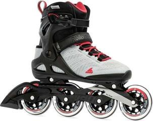 Rollerblade Sirio 90 W Light Grey/Geranium