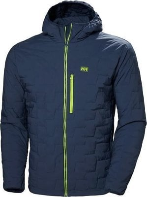 Helly Hansen Lifaloft Hooded Stretch Insulator Jacket North Sea Blue L