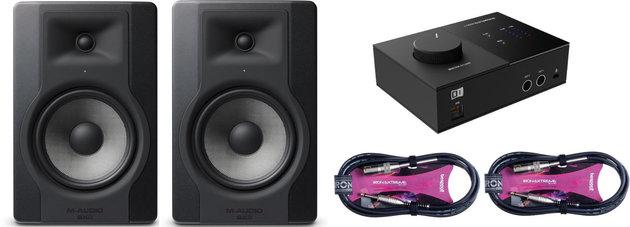 M-Audio BX8 D3 Audio SET 2