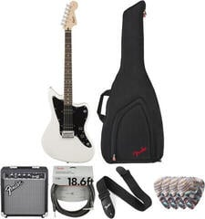 Fender Squier Affinity Series Jazzmaster HH IL Arctic White Deluxe SET