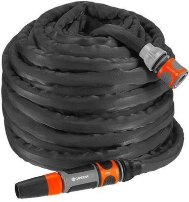 Gardena Textile Hose Liano 30 m Set with cleaning nozzle