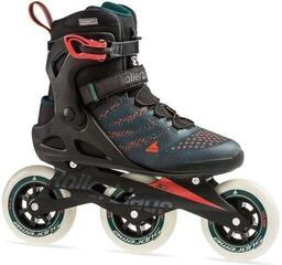 Rollerblade Macroblade 110 3WD Teal Green/Orange Burst