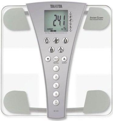 Tanita BC-543 Smart Scale Clear