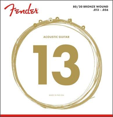 Fender 80/20 Bronze 70M 13-56