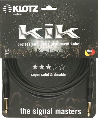 Klotz KIKKG9.0PPSW Instrument Cable 9 m