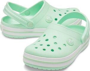 Crocs Kids' Crocband Clog Neo Mint