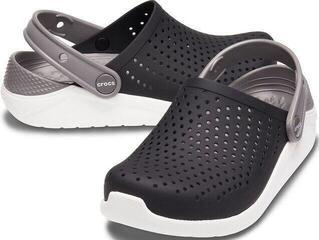 Crocs Kids' LiteRide Clog Black/White 37-38