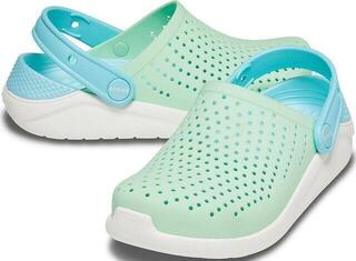 Crocs Kids' LiteRide Clog Neo Mint/White