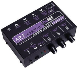 ART ProMIX Three Channel Microphone Mono Mixer
