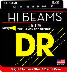 DR Strings MR5-45-125 Hi-Beam 5 String Medium