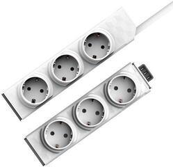 PowerCube PowerStrip Modular Switch 1,5m + modul Strip White 1,5 m