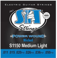 SIT Strings S1150 Power Wound Electric Medium Light