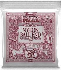 Ernie Ball 2409 Ernesto Palla Black Nylon Gold Ball End Classical