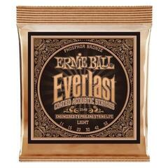 Ernie Ball 2548 Everlast Light Coated Phosphor Bronze Acoustic