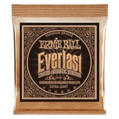 Ernie Ball 2550 Everlast Extra Light Coated Phosphor Bronze Acoustic