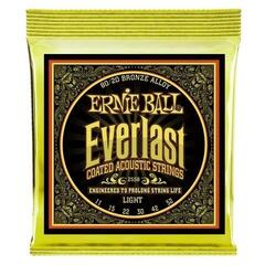 Ernie Ball 2558 Everlast Light Coated 80/20 Bronze Acoustic