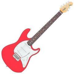 Sterling by MusicMan Cutlass Fiesta Red