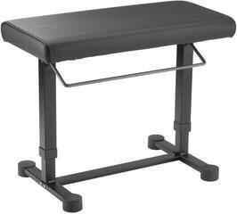 Konig & Meyer 14080 Piano Bench Uplift Black Leather