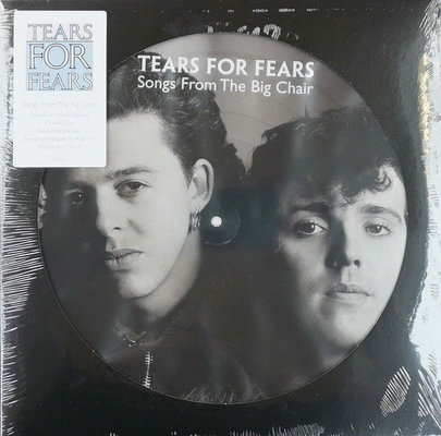 Tears For Fears Songs From The Big Chair (Picture Disc LP)