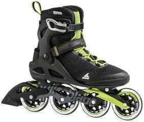 Rollerblade Macroblade 90 Black/Acid Green 28,5/44 (B-Stock) #924763