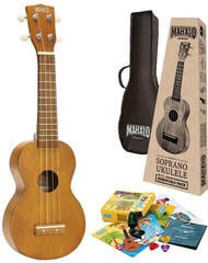 Mahalo MK1 Soprano Ukulele Transparent Brown