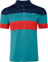 Kjus Luan CB Mens Polo Shirt Atlanta Blue/Surfers Blue