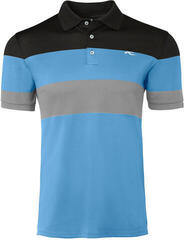 Kjus Luan CB Mens Polo Shirt Aqua Splash/Salute