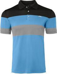 Kjus Luan CB Mens Polo Shirt Aqua Splash/Salute
