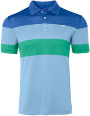 Kjus Luan CB Mens Polo Shirt Bermudas Blue/Strong Blue