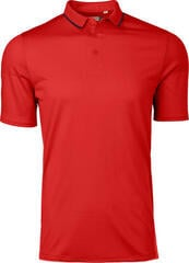Kjus X-Stretch Lionel Mens Polo Shirt Jungle Red